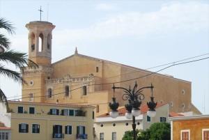 santa Maria church Menorca